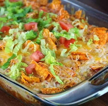 Dorito Chicken Casserole Recipe - Anna Things and Thoughts