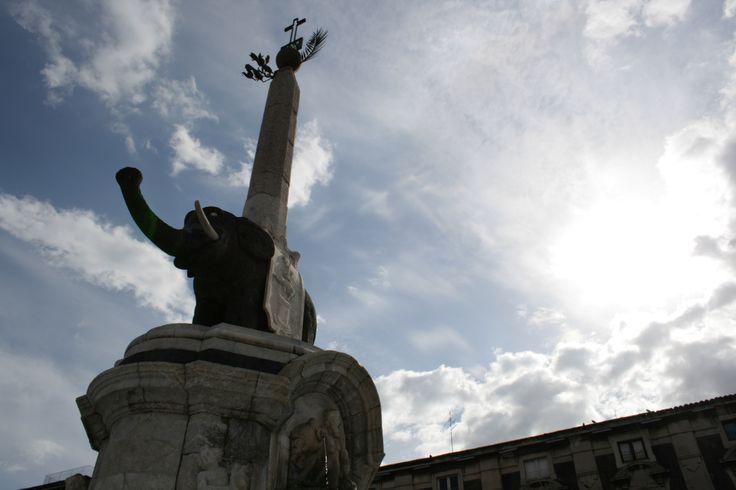 Fonta dell'Elefante piazza Duomo Catania