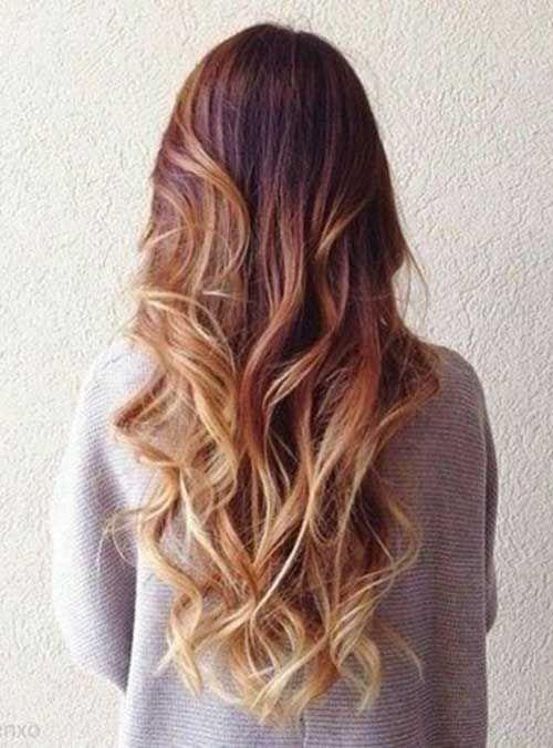 10+ Curls en vrac pour les cheveux longs