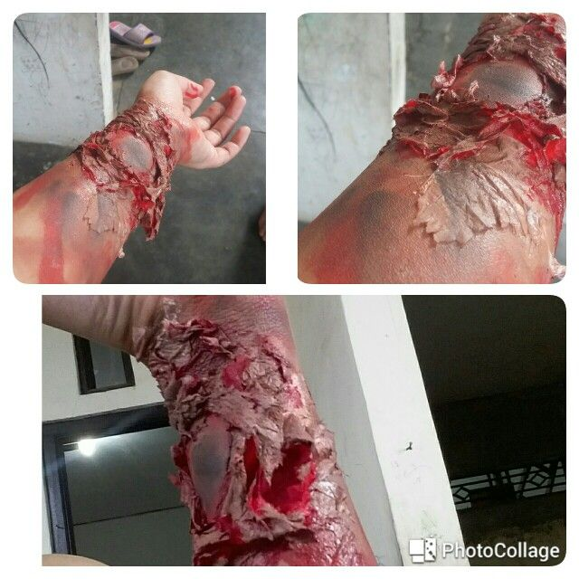 Special effect makeup by me