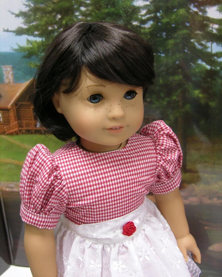Little Red Riding Hood costume for American Girl doll. $70.00, via Etsy.