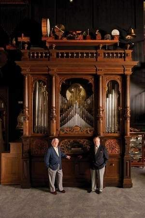 1913 Welte Wotan Brass Band Orchestrion - the mechanical instrument once played for dancers at the Boblo Island Amusement Park.