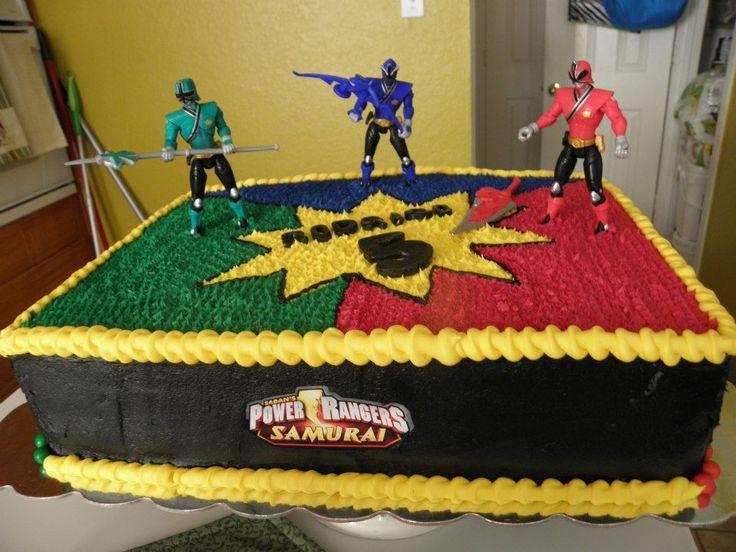 Quot Power Rangers Quot Cake My Cakes Pinterest Power