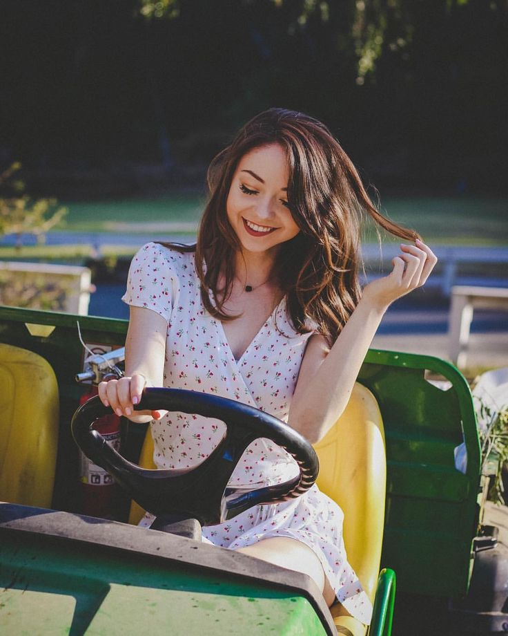 """56k Likes, 213 Comments - Meredith Foster (@meredithfoster) on Instagram: """"I'll take you for a ride on my big green tractor"""""""
