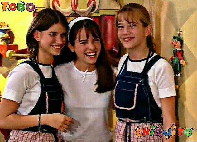 Camila Bordonaba (Camila), Candela Gribodo(Olivia Casani) y Luisana Lopilato(Luisana) en lá #Telenovela #Chiquititas2000 #MiTelenovelaFavorita #MarcoMinines #MarcouMinhaInfacia #Telefe #SBT #ExitoMundial
