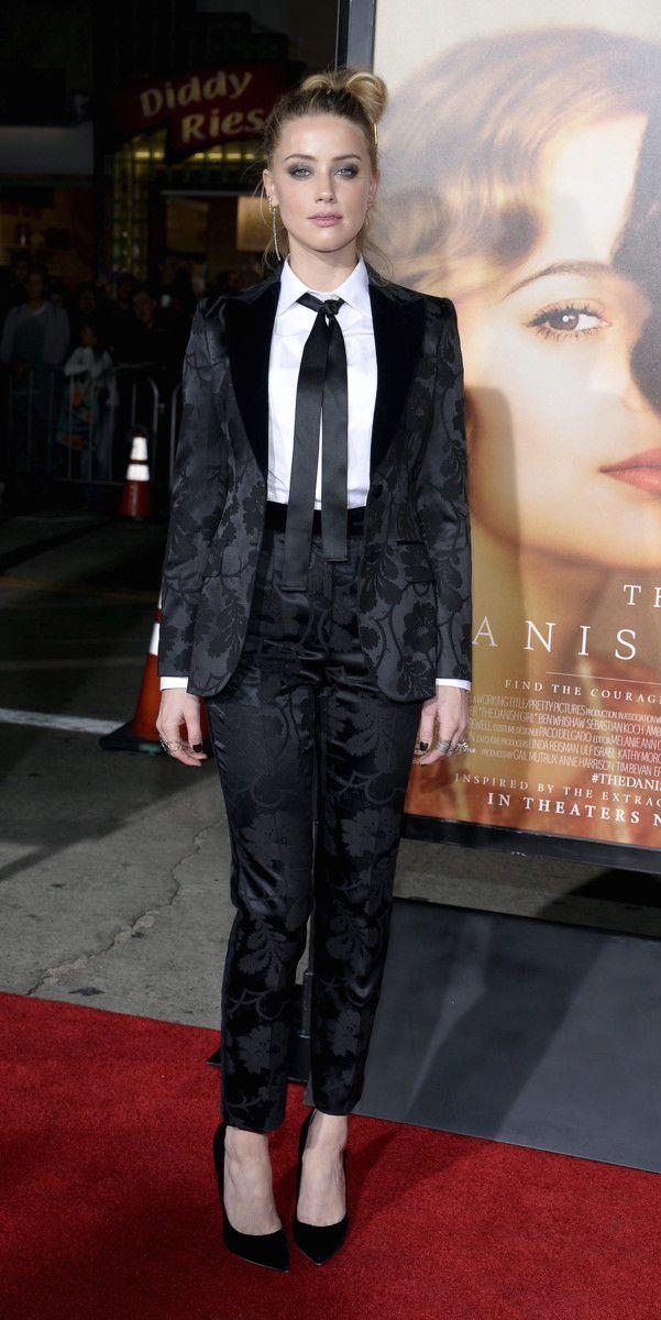 Amber Heard copia el estilo de su marido, Johnny Depp