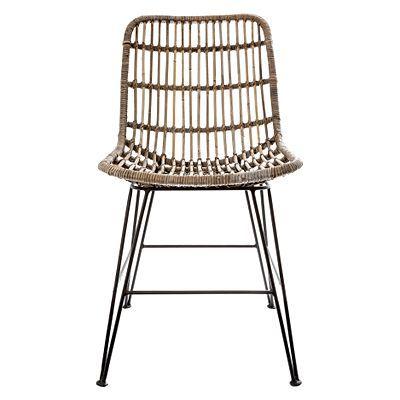 Mudoro Rattan Dining Chair by Casa Uno | Rattan dining ...