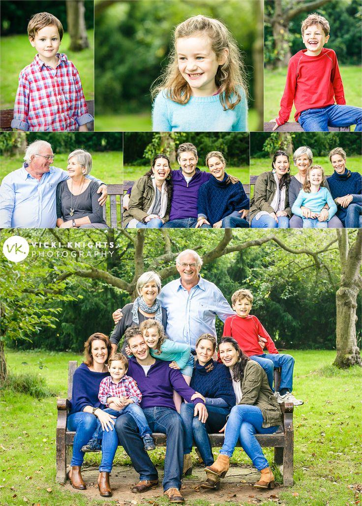 Extended family photo shoot. #bigfamilyshoot | Vicki Knights Photography