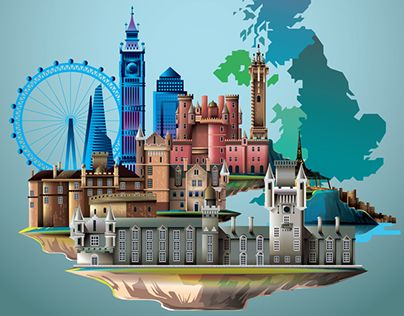 """Check out new work on my @Behance portfolio: """"Welcome to UK"""" http://be.net/gallery/36101651/Welcome-to-UK"""