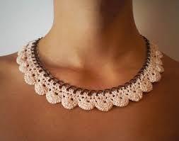 Resultado de imagen para collares en crochet