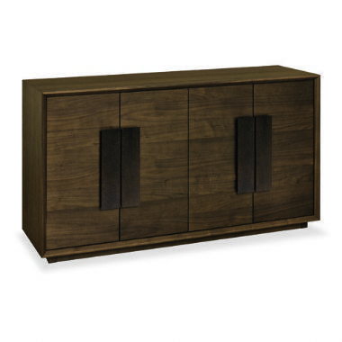 City Walnut Wide Sideboard - £599 | brandinteriors.co.uk