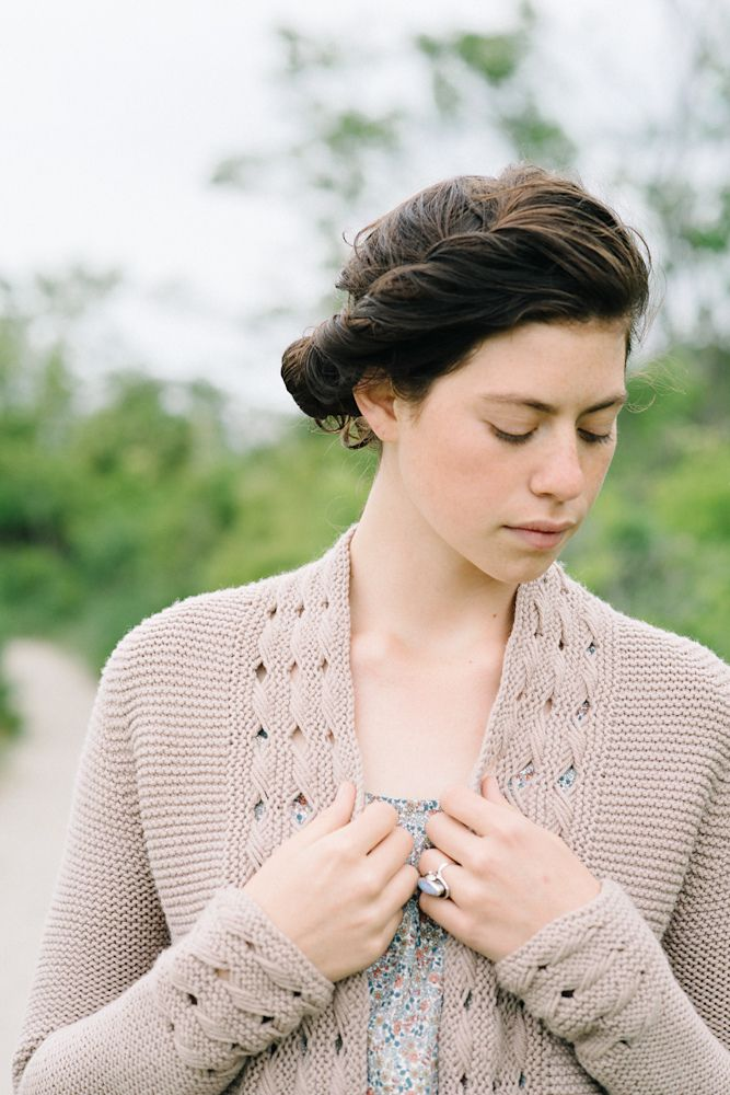 Gorgeous Beatrice Cardigan pattern by Carrie Bostick Hoge @madder #knitting #cardigan #pattern