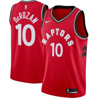 Nike DeMar DeRozan Toronto Raptors Red Swingman Jersey #raptors #toronto #nba