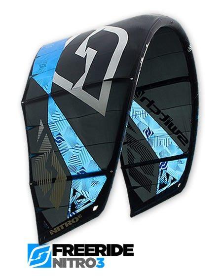 Nitro3 Freeride Kite | SwitchKites