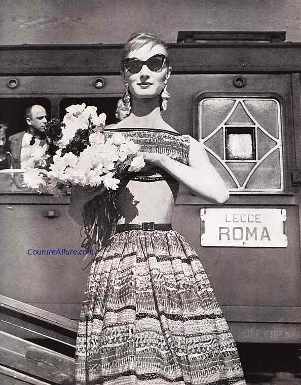 Couture Allure Vintage Fashion: Henry Rosenfeld, 1955