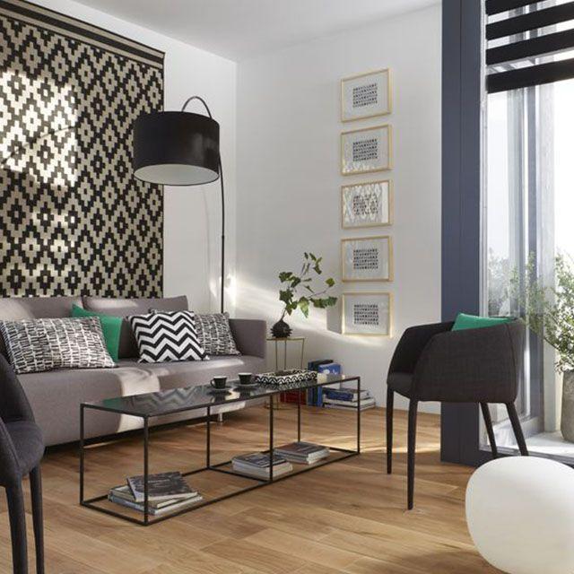 Les 72 meilleures images du tableau salons sur pinterest - Castorama tapis salon ...