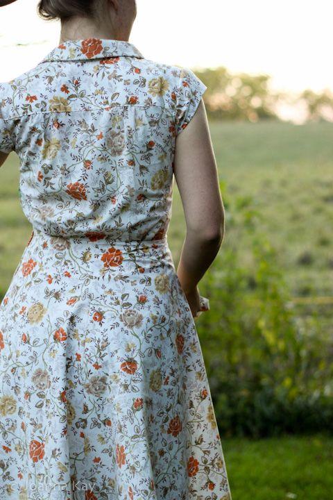 Simplicity 1880 -- Jo-with-it's Portfolio: Dress From the Limberlost