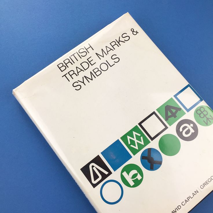Weve added British Trade Marks & Symbols a quite stunning book to our Vintage section along with a whole host of other titles to the site today. #counterprintbooks #vintage #trademarks #symbols