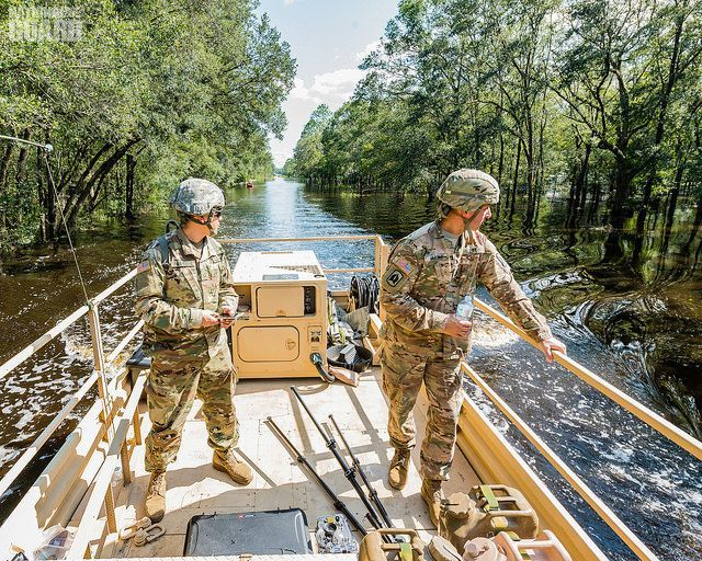256th Brigade Special Troops Battalion, evacuate LaPlace ...  |National Guard Water Rescue