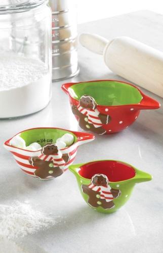 Gingerbread Measuring Cup Set by Mud Pie! & 77 best Gingerbread People images on Pinterest | Ginger cookies ...