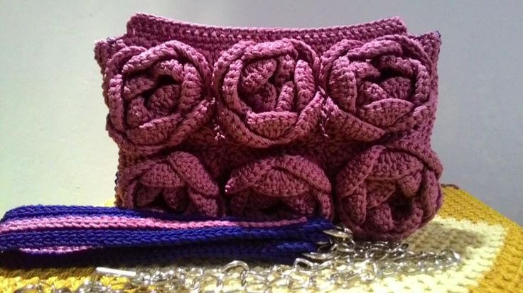 Roses clutch by Farida Cahyaning Ati