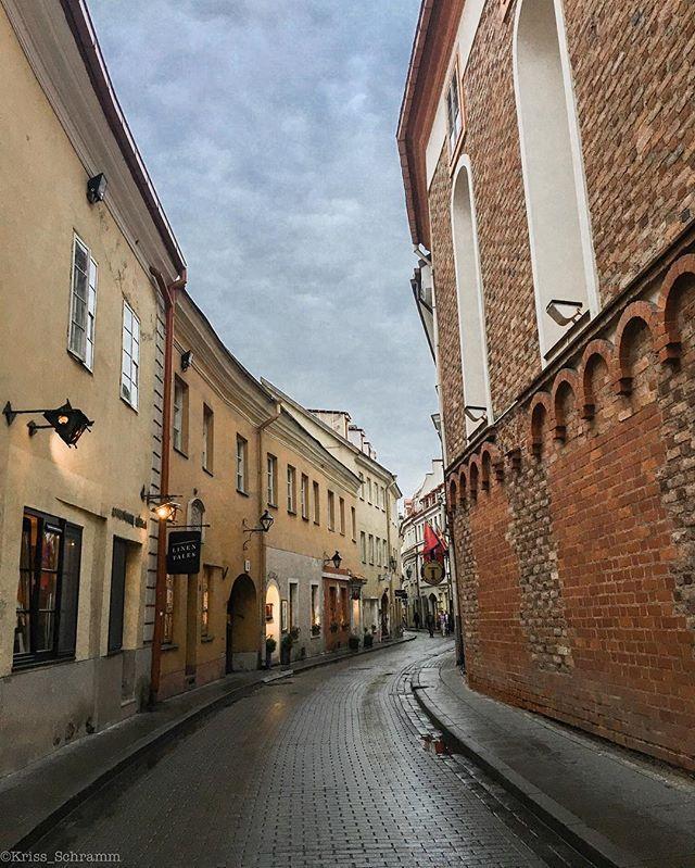 """The beautiful street of old town, Vilnius 🇱🇹 • • • #coupleswhotravel #urban #urbanexploration #old #town #capital #oldtown #vilnius #lithuania #travel #travelgram #instatravel #picoftheday #photography #buildings #clean #light #cozy #instagood"" by @kriss_schramm. #fslc #followshoutoutlikecomment #TagsForLikesFSLC #TagsForLikesApp #follow #shoutout #followme #comment #TagsForLikes #f4f #s4s #l4l #c4c #followback #shoutoutback #likeback #commentback #love #instagood #photooftheday…"