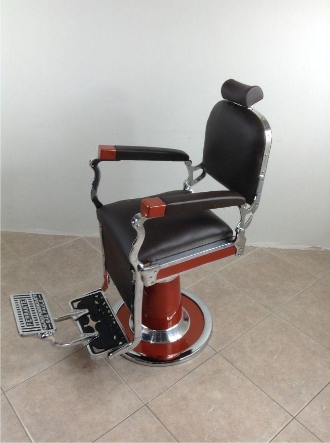Cadeira De Barbeiro Antiga Ferrante Anos 50 Restaurada - R$ 6.990,00 no MercadoLivre