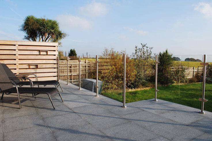 Is your garden missing something? Why not add one of our beautiful Glass Balustrades?