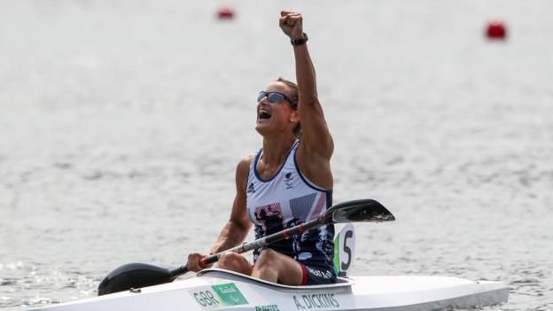 Anne Dickins: Rio Paralympics canoeing champion hopes to have inspired others