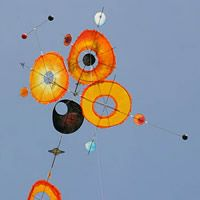Astrolabium by Fly-high, a plan for 1 line kite hosted at the bowed category of the KPB