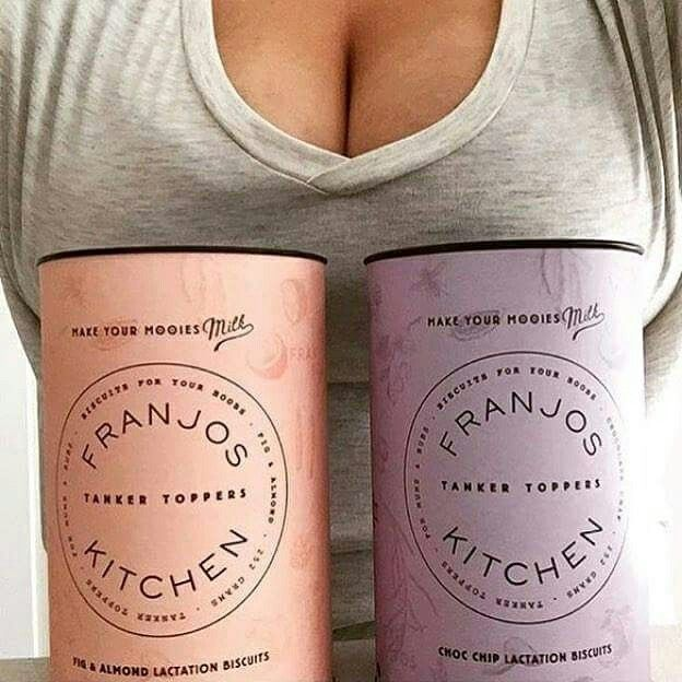 Make Your Mooies Milk with Franjos Kitchen Fig & Almond or Choc Chip