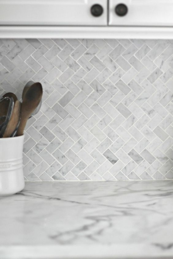 White Kitchen Herringbone Backsplash top 25+ best modern kitchen backsplash ideas on pinterest