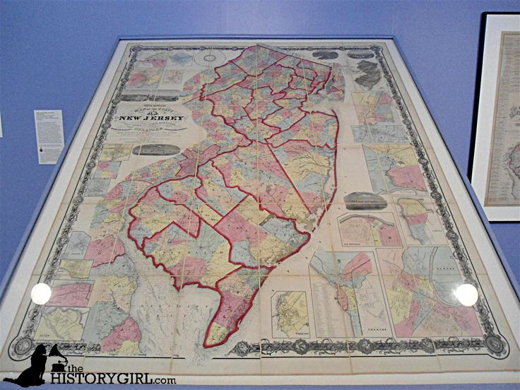 17 Best Images About Nj State Museum Historical Maps Of