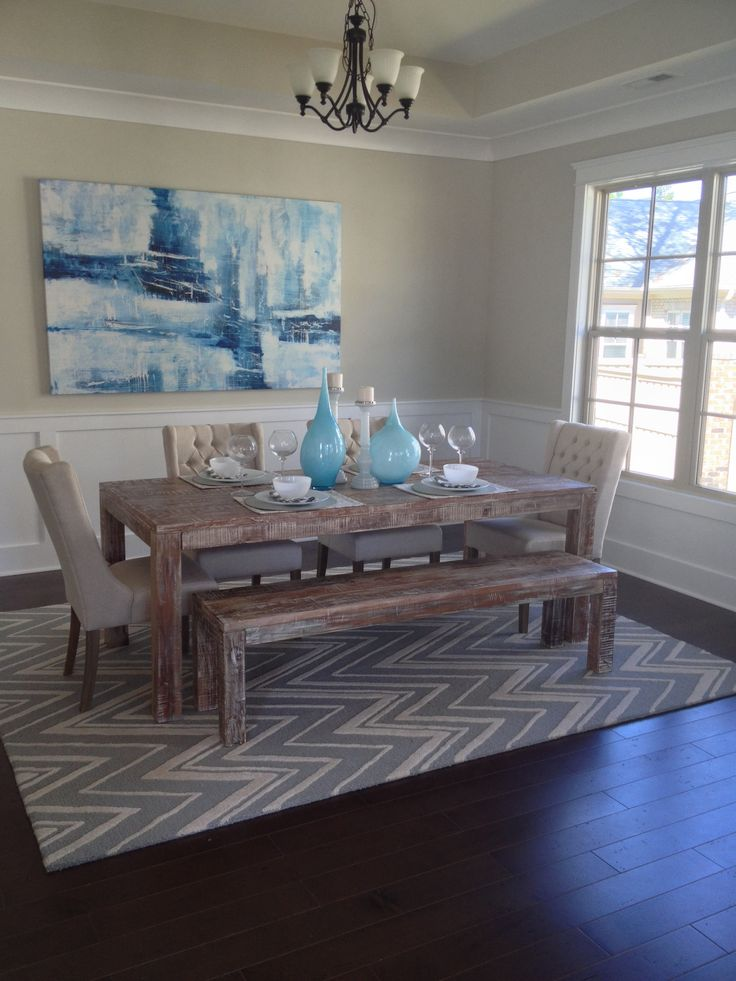 Best 170 dramatic dining rooms images on pinterest home for Formal dining room paint