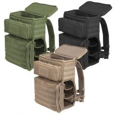Voodoo Tactical 20-0930 2 Tier Backpack with MOLLE Webbing, Great for Cameras