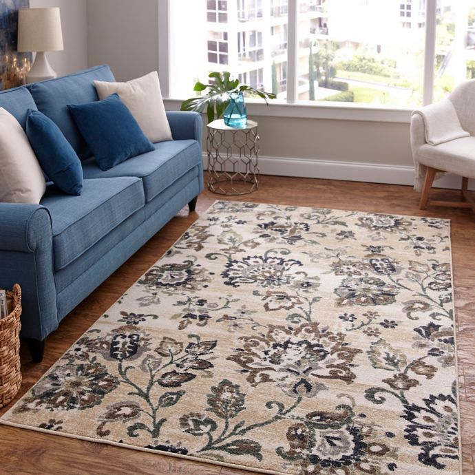 Hadi Jacobean Area Rug By Mohawk Home On Bed Bath And Beyond