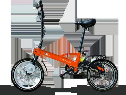 Vélo pliant électrique - Vélo pliable électrique - VAE urbain léger - VAE ultralight - Vélo électrique pratique - V'Lec Pocket - V'Lec Cycles - Vlec - VAE français - ebike -