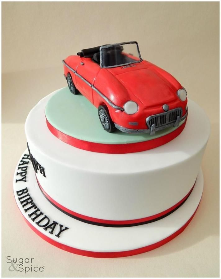 Best Car Cakes Images On Pinterest Car Cakes Birthday Cakes