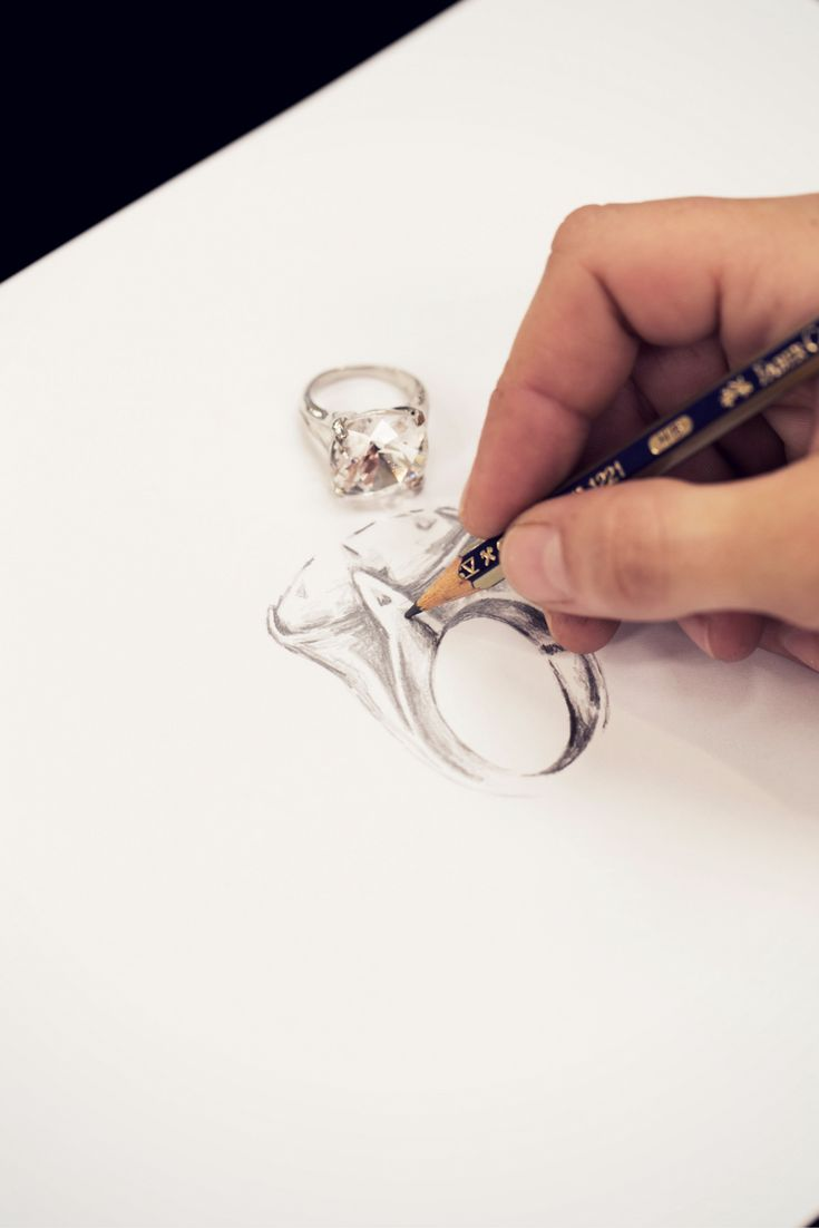 Watching our Roxanne Cocktail Ring come to life... Be bold, be confident, be sassy and rock on!