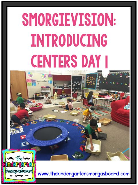 A video of how a kindergarten class introduces centers!