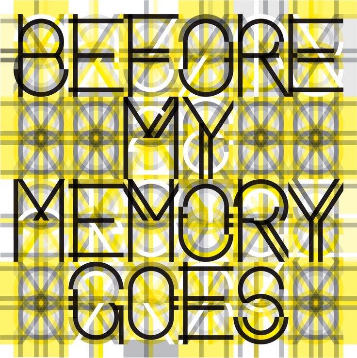 Marian Bantjes, Before my Memory Goes, for AGI (Alliance Graphique Internationale), vector art, 2011 | #graphic #design #mudac #typography #wunderkammer