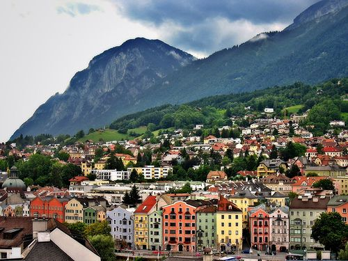Innsbruck, Austria is one of my favorite cities; such beautiful scenery, architecture and wonderful places to shop for that something special.
