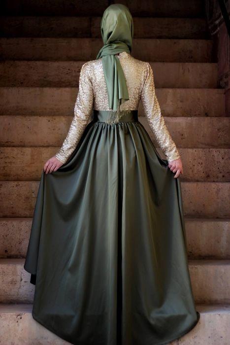 Gamze Polat Haki Esvap Abiye Elbise