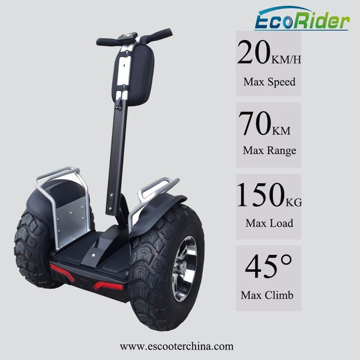 """""""EcoRider 2 wheel gyro scooter seabob, boosted electric skateboard, hoverboard with 4000W brushless motor mobility"""""""