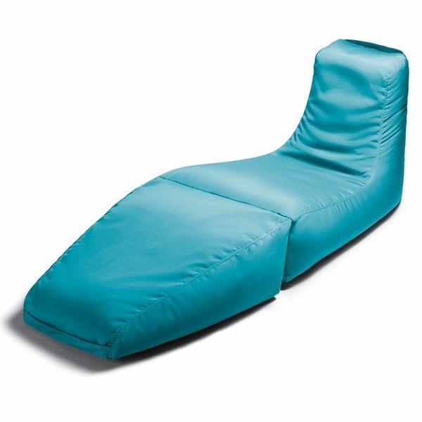 Prado Outdoor Bean Bag Lounger (Light Blue)