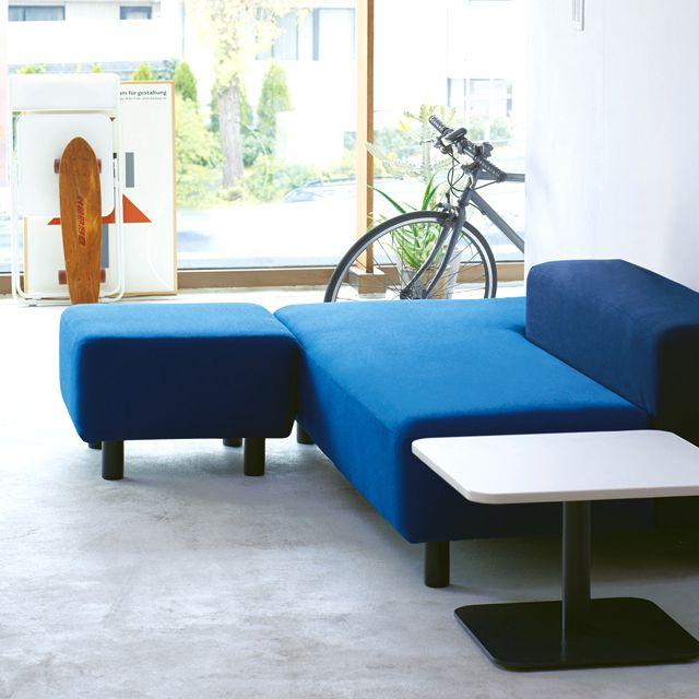 muji Sofa bench, sit down, lie down, play, eat #furniture#bed #bed-frame #furniture