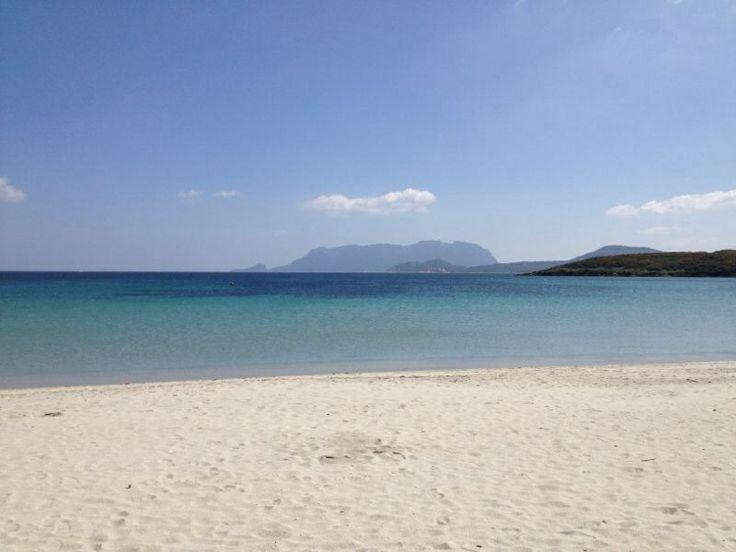 One of the many white beaches in Sardinia, Olbia.