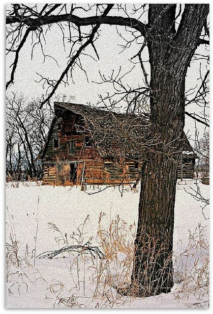 Old barn by Across & Down, via Flickr