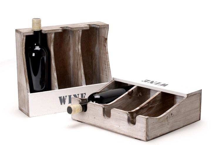 wooden wine cart // ξύλινη κάβα ξύλινη