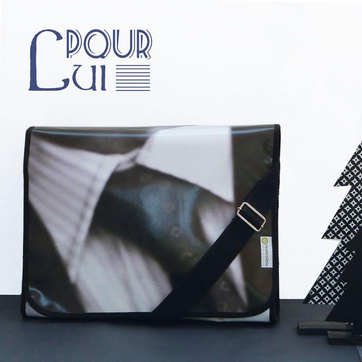 Sacoche. Sacoche en bâche publicitaire PVC. Made in France.